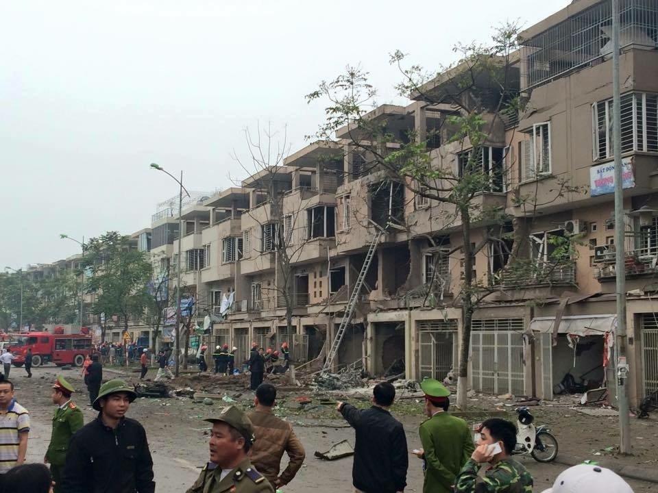Xác định danh tính người đàn ông cưa vật liệu gây ra vụ nổ ở Hà Nội 1
