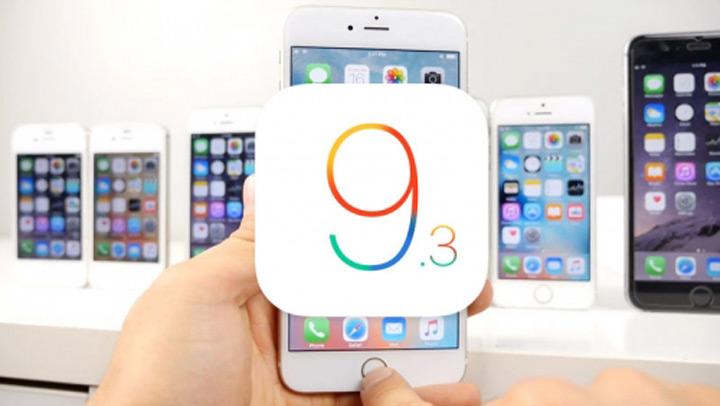 iOS 9.3 chính thức được Apple giới thiệu 1