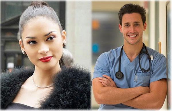 Chân dung bác sĩ điển trai đang hẹn hò với tân Hoa hậu Hoàn vũ 5