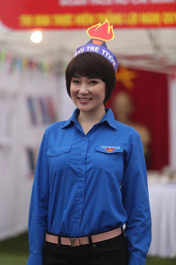 Hoa hậu Nguyễn Thị Huyền tái xuất với hình ảnh khác lạ 1