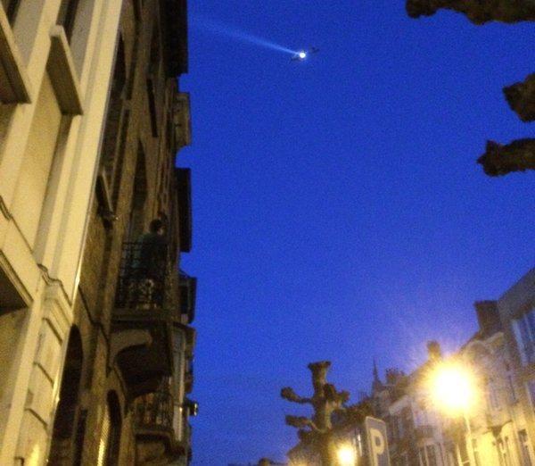Dấu vết IS tại một căn hộ tại thủ đô Brussels 1