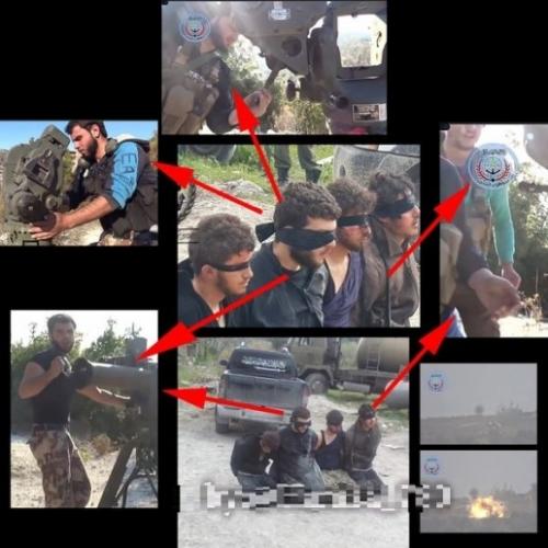 Syria bắt được phiến quân bắn cháy trực thăng Nga 3