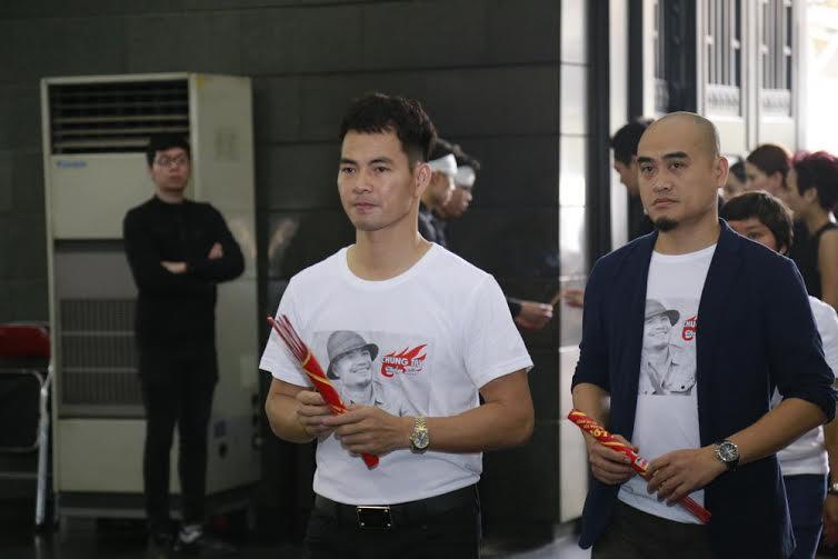Nghệ sĩ Việt nén đau thương tiễn đưa Trần Lập 3