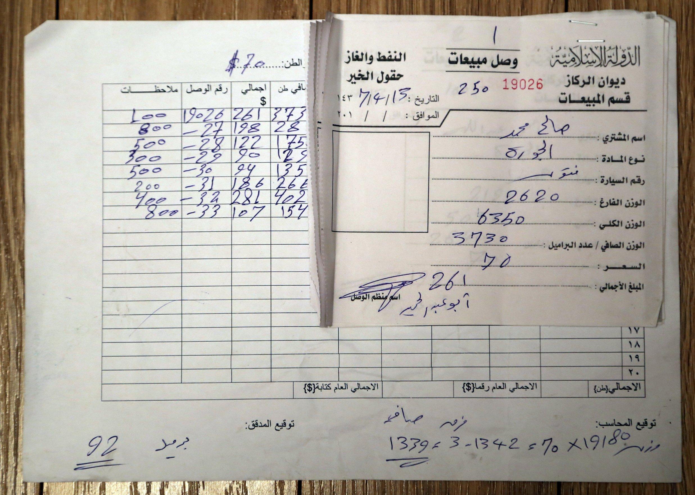 """Tài liệu """"độc nhất vô nhị"""" tố IS buôn dầu với Thổ Nhĩ Kỳ 5"""