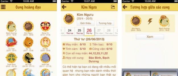 Hình ảnh Top 4 ứng dụng Tử vi Phong thủy được cập nhật nhiều nhất trên iOS số 4