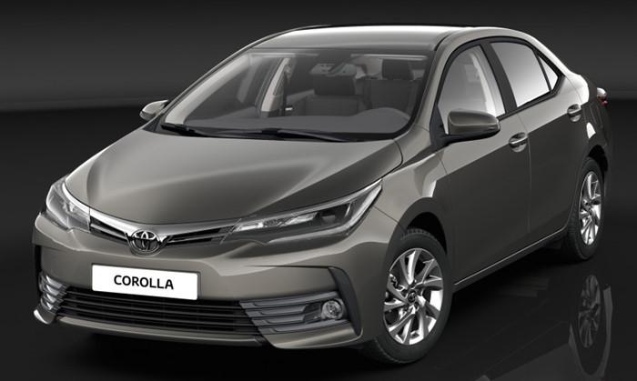 Toyota Altis 2017 lộ diện những bức ảnh đầu tiên 1