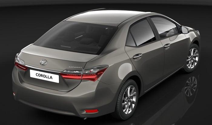 Toyota Altis 2017 lộ diện những bức ảnh đầu tiên 2