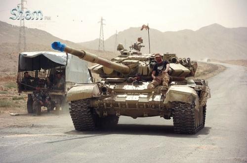 Bị tấn công dồn dập, IS bắt đầu tháo chạy khỏi Palmyra 1