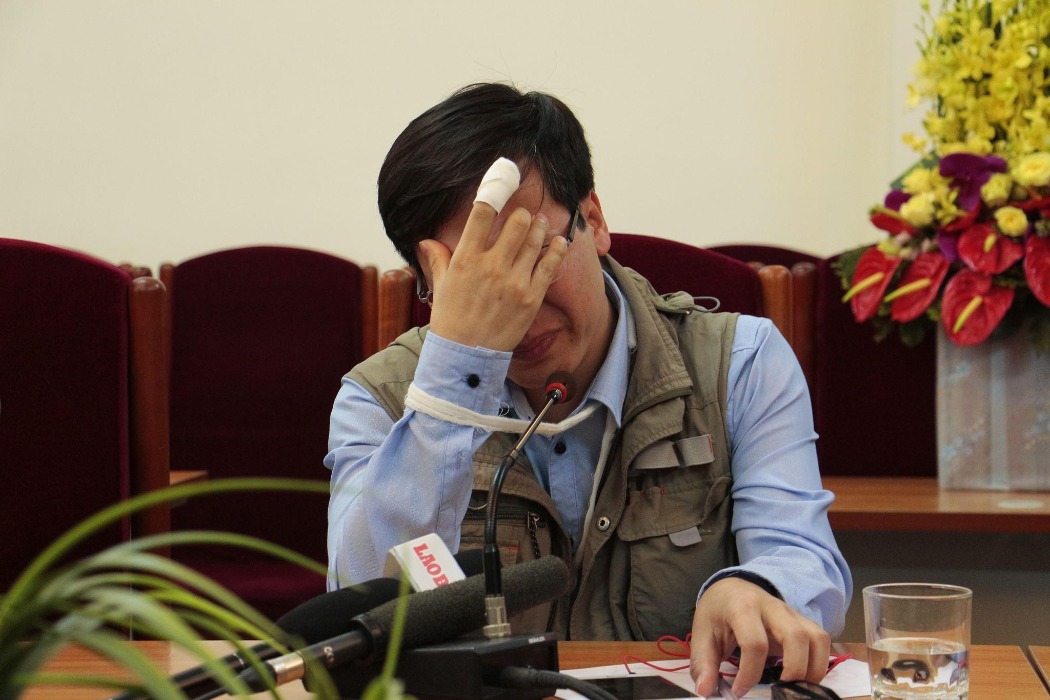 Nhà báo Đỗ Doãn Hoàng: 'Sau khi bị hành hung, không ai giúp tôi' 1