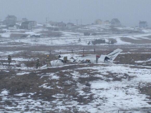 Rơi máy bay, gia đình cựu Bộ trưởng Canada thiệt mạng 1