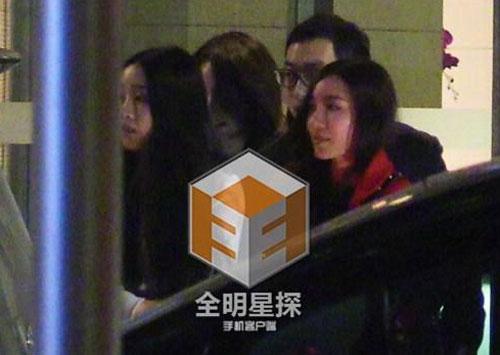 Huỳnh Hiểu Minh bỏ mặc vợ, đi chơi tới tận khuya với gái lạ 3