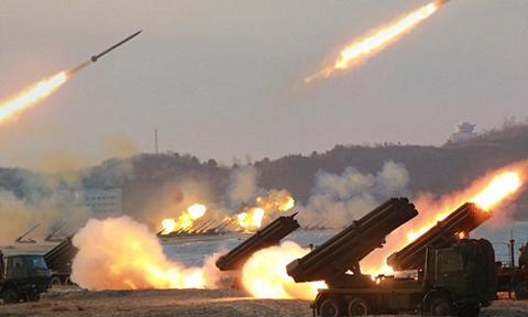 Triều Tiên tuyên bố chuẩn bị không kích hạt nhân phủ đầu Mỹ 1