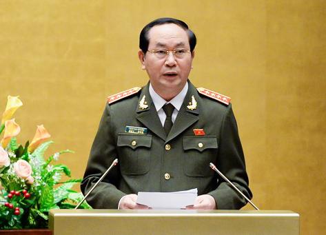 Sáng nay Quốc hội bỏ phiếu bầu Đại tướng Trần Đại Quang làm Chủ tịch nước 1
