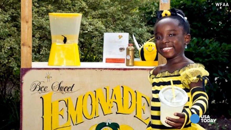 Cô bé 11 tuổi kiếm 200 tỷ từ bán nước chanh 2