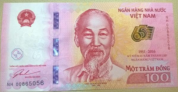 Ngân hàng Nhà nước phát hành tiền mệnh giá 100 đồng 1