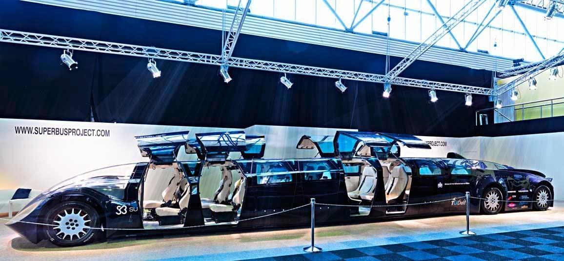 Cận cảnh siêu xe bus ở Dubai 4