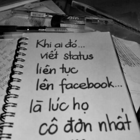 Hình ảnh Những status buồn, stt tâm trạng về cuộc sống, tình yêu hay nhất số 2