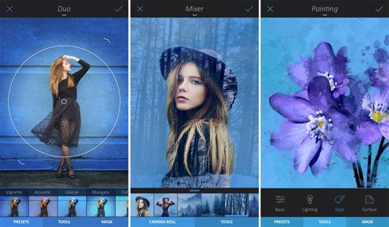 Hình ảnh 5 ứng dụng chỉnh ảnh mới ra mắt bạn nên dùng số 2