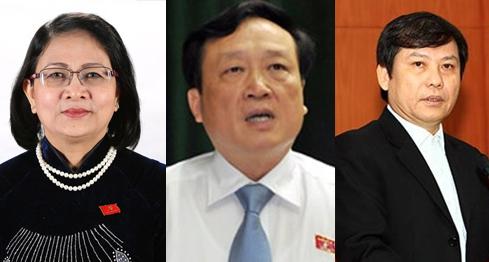 Thủ tướng trình Quốc hội miễn nhiệm một số Phó Thủ tướng, Bộ trưởng 1