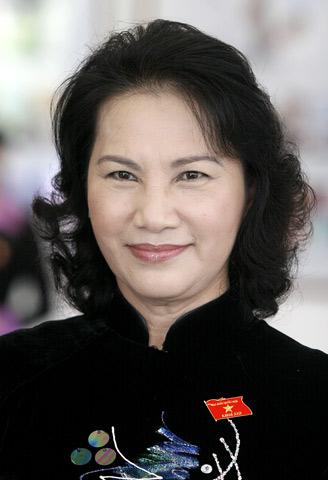 Hình ảnh 8 nữ lãnh đạo cấp cao Việt Nam 1