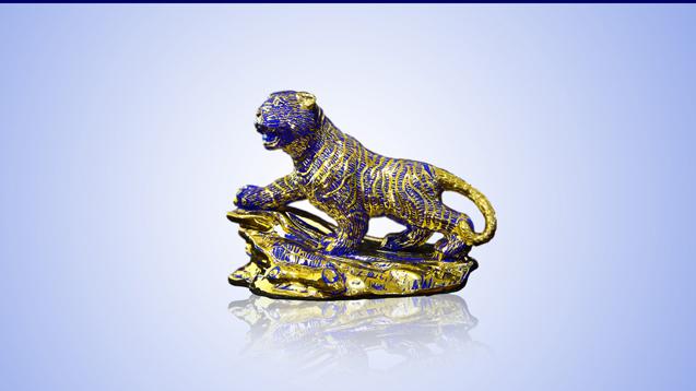 Hình ảnh Sản phẩm Quý linh 12 con giáp dát vàng 6.600.000 số 3