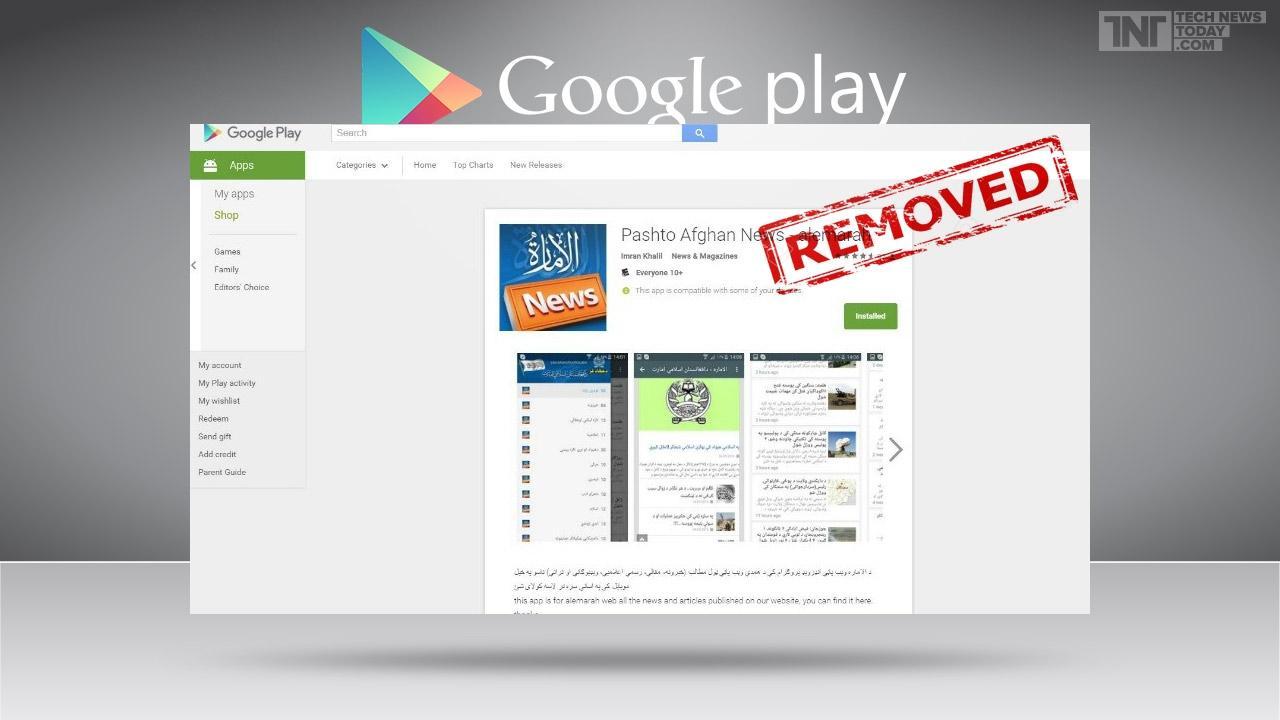 Google xóa bỏ không thương tiếc ứng dụng của khủng bố Taliban 1