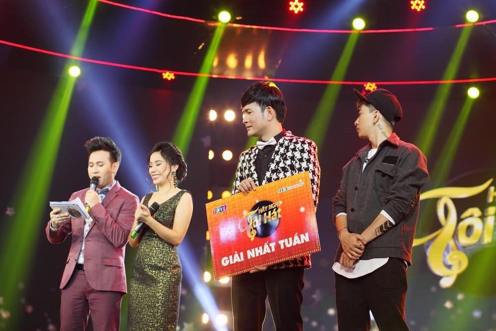 Hình ảnh Quách Thành Danh chiến thắng thuyết phục trong đêm nhạc Bảo Yến số 8