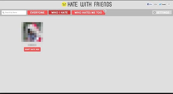 Hình ảnh Lạ lùng với ứng dụng ghét bạn bè trên Facebook số 2