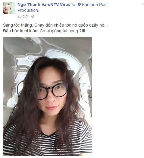 Facebook sao Việt: Hồ Ngọc Hà tái xuất xinh đẹp 8