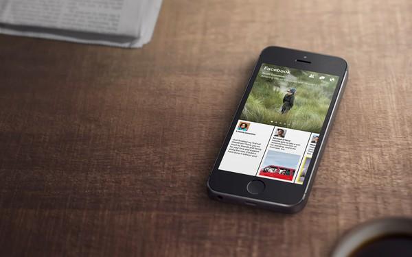 Hình ảnh Ứng dụng Paper biến trang cá nhân Facebook thành 1 tờ báo số 1