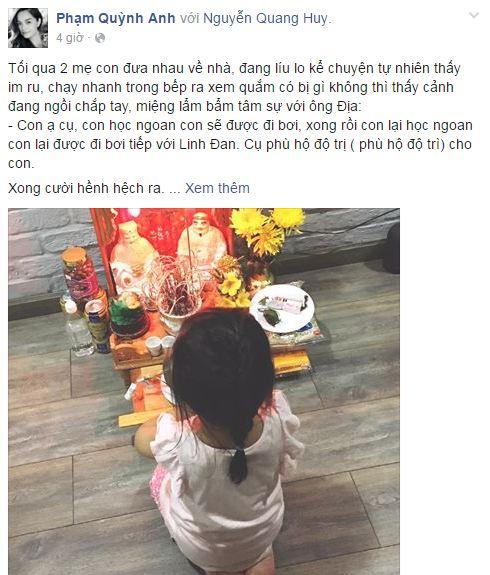 Facebook sao Việt: Hồ Ngọc Hà tái xuất xinh đẹp 9