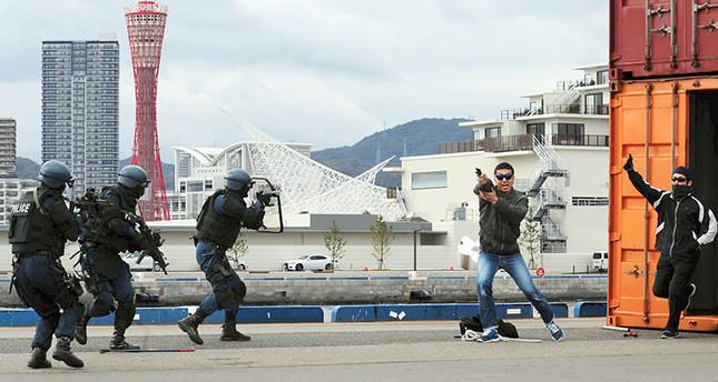 Nhật diễn tập chống khủng bố trước thềm Hội nghị G7 2