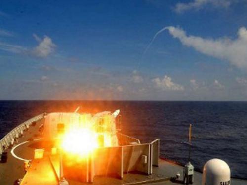 Hạm đội Nam Hải Trung Quốc lại tập trận trên Biển Đông 1
