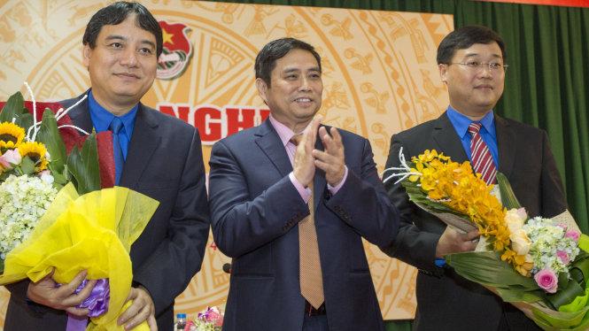 Ông Lê Quốc Phong chính thức giữ chức Bí thư thứ nhất TƯ Đoàn 1