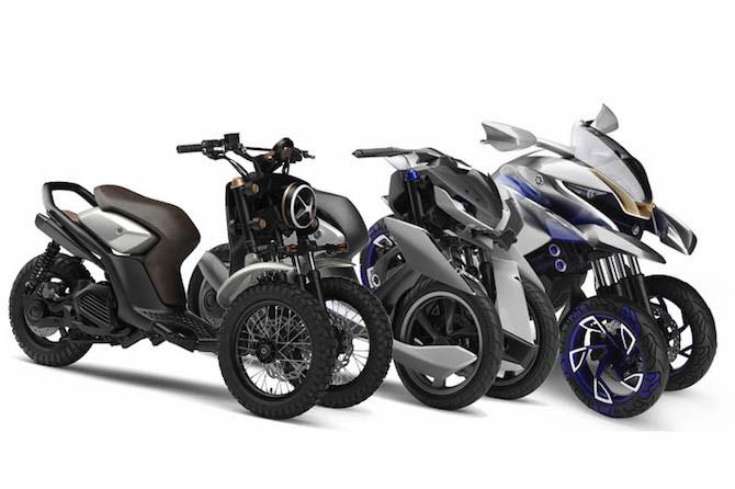 Yamaha tiết lộ về mẫu môtô ba bánh PKL có thể ra mắt vào năm 2018 3