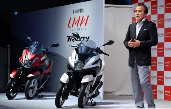Yamaha tiết lộ về mẫu môtô ba bánh PKL có thể ra mắt vào năm 2018 2