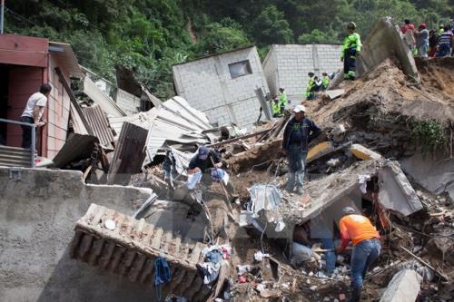 Lở đất tại Ấn Độ, 16 người thiệt mạng 2