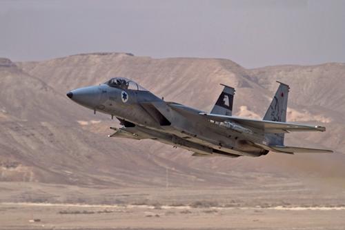 Israel điều chiến đấu cơ chặn máy bay chở khách khả nghi 1