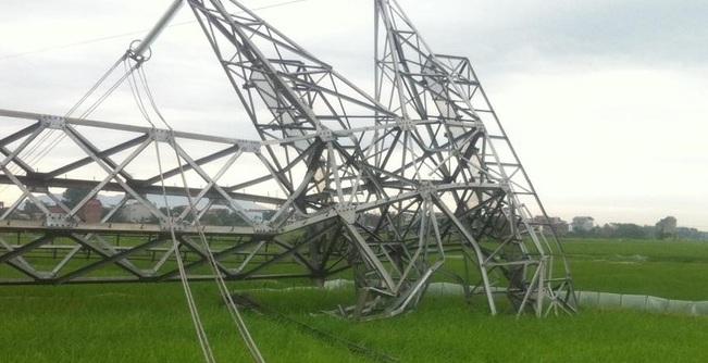 Đổ đường cột điện cao thế 500 KV: Lãnh đạo công ty truyền tải điện I nói gì? 1