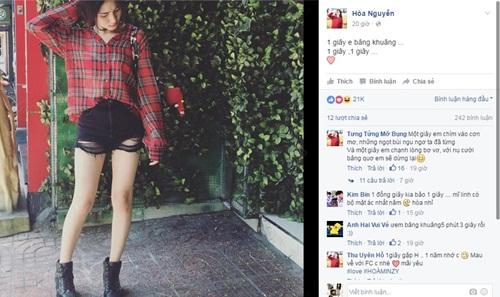 Facebook sao Việt: Minh Hằng tình cảm bên Quý Bình 7