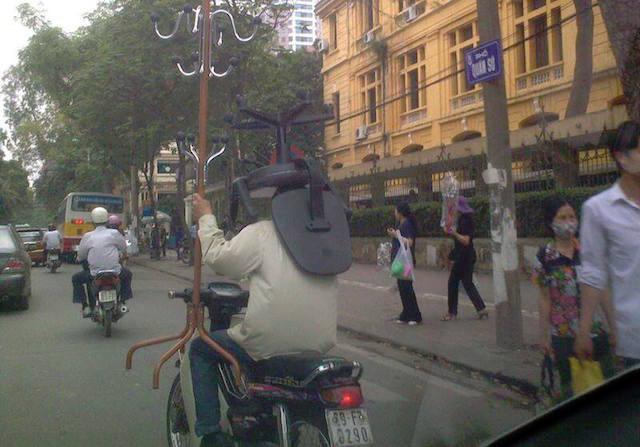 Ảnh vui giao thông Việt Nam tuần qua 8