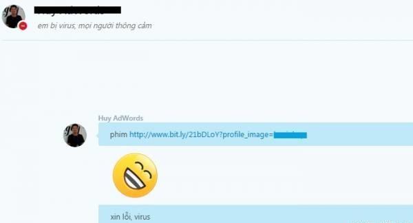 Cảnh báo virus mã độc phát tán qua Skype tại Việt Nam 1