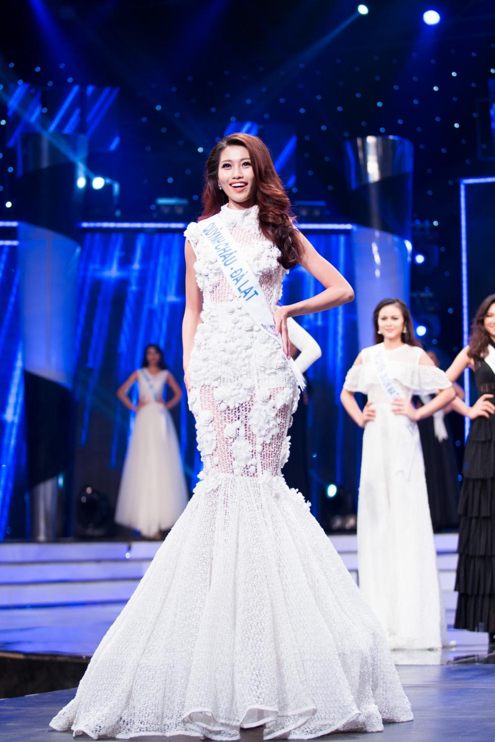 Quỳnh Châu được quan tâm hàng đầu tại 'Hoa khôi Áo dài' 4