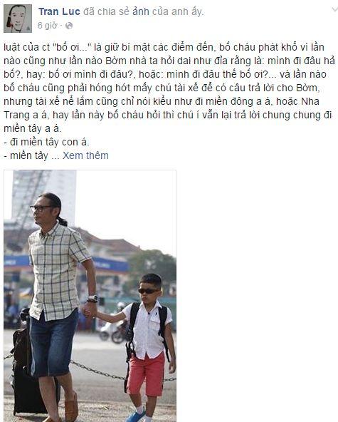 Facebook sao Việt: Tuấn Hưng làm ông bố đảm đang khi thay vợ chăm sóc con 9