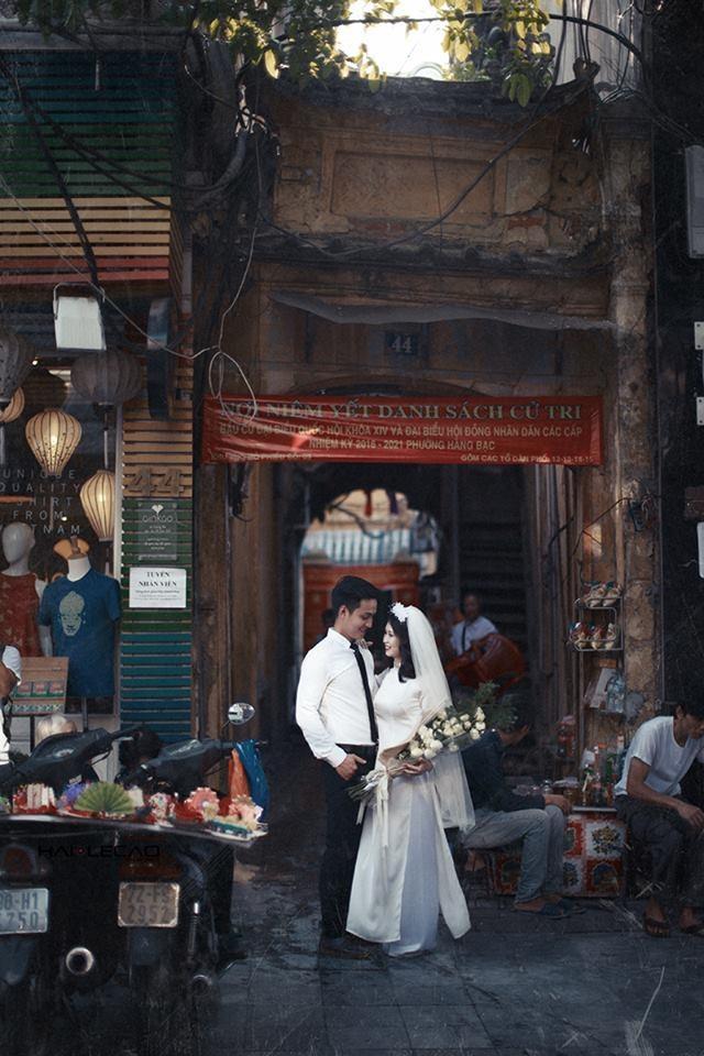 Bộ ảnh cưới tái hiện thập niên 60 mang đậm màu sắc ngôn tình 8