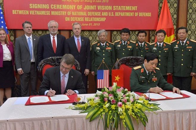 Mỹ - Việt đàm phán dỡ bỏ hoàn toàn lệnh cấm vận vũ khí 1