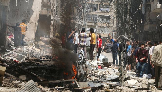 Không kích bệnh viện ở Aleppo, 53 người thiệt mạng 4