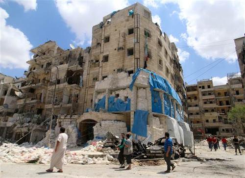 Không kích bệnh viện ở Aleppo, 53 người thiệt mạng 2