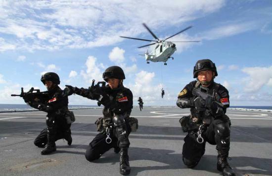 Trung Quốc đưa tàu khu trục tập trận chung với ASEAN ở Biển Đông 1