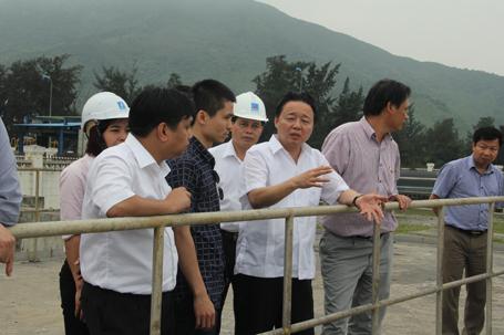 Bộ Trưởng TN-MT Trần Hồng Hà yêu cầu Formosa đưa ống xả thải ngầm lên 1